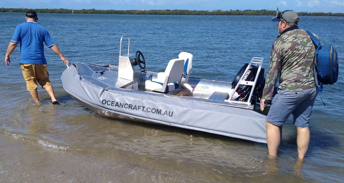 OCEAN CRAFT 3300 DIVER CARTOPPA 3.3 metre DIVER with options