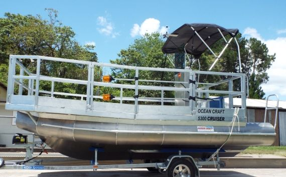 OCEAN CRAFT 5300 CRUISER with square nosed bow