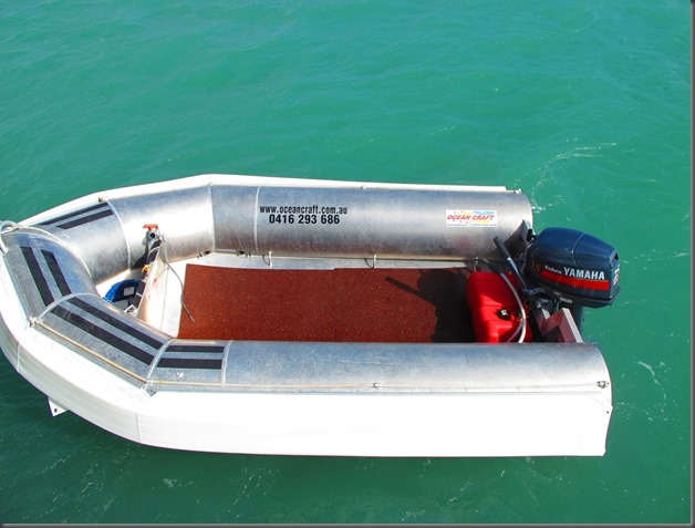 Latest OCEAN CRAFT 3300 Bouncy Craft 3.3 Metre NSCV Compliant DINGHY / AMSA Compliant Non SOLAS Rescue boat