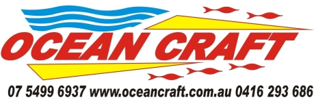 OCEAN CRAFT 2013 logo stickers